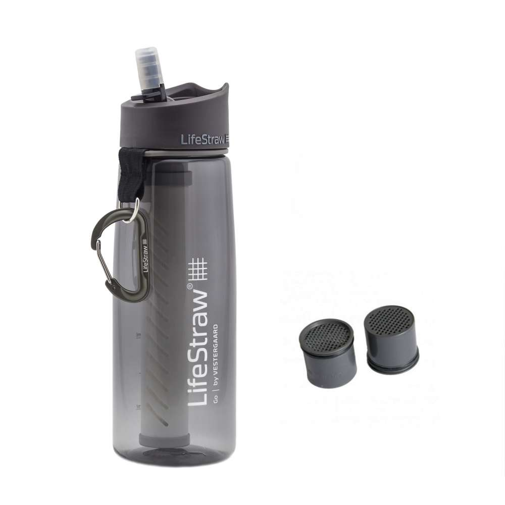 LifeStraw Go Grey dengan extra kapsul karbon Photo