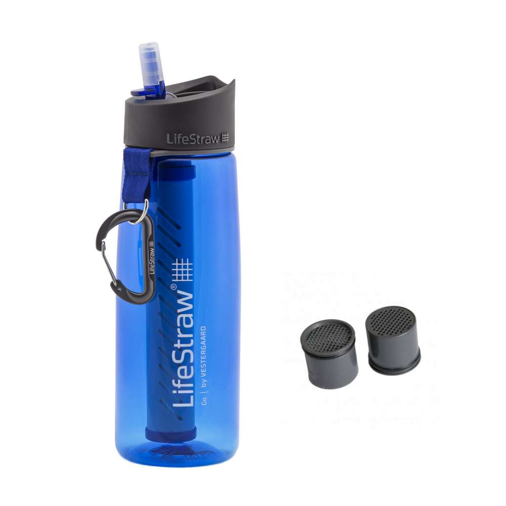 LifeStraw Go Blue dengan extra kapsul karbon Photo