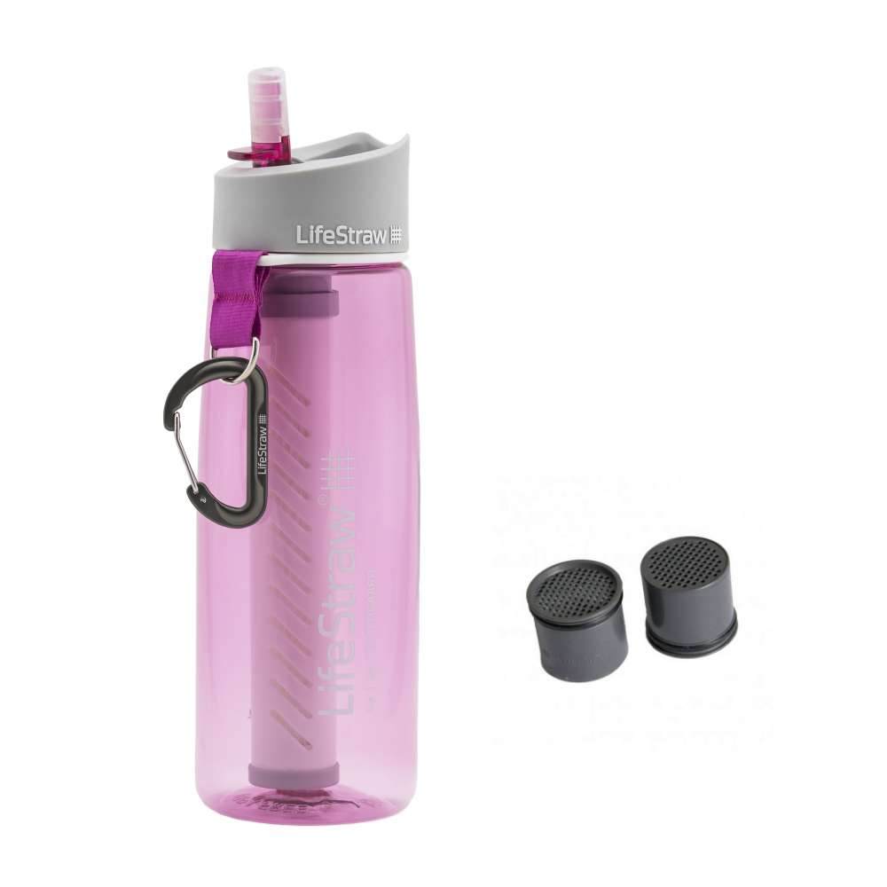 LifeStraw Go Pink dengan extra kapsul karbon Photo