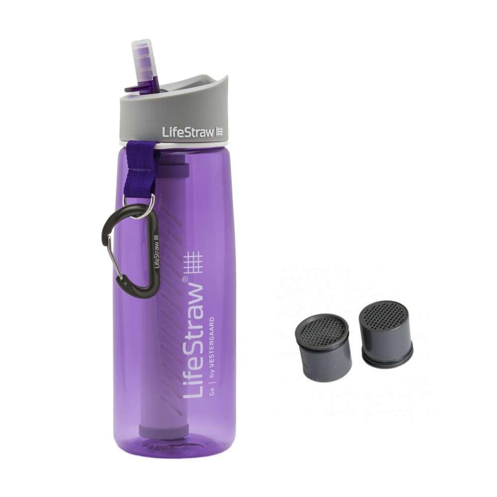 LifeStraw Go Purple dengan extra kapsul karbon Photo