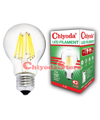 LED FILAMENT A-60 6W E27 Photo