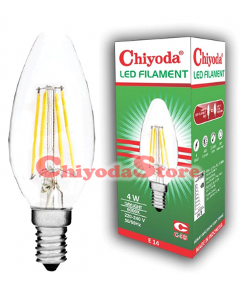 LED FILAMENT C-35 2W E14/E27 Photo
