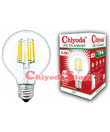 LED FILAMENT G-80 E27 Photo
