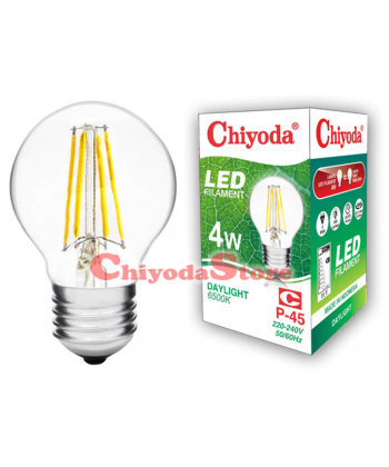 LED FILAMENT P-45 4W E14/E27 Photo