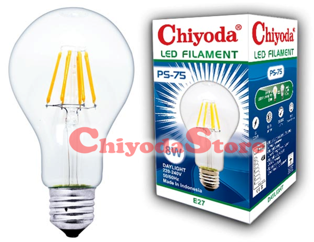LED FILAMENT PS-75 8W E27 Photo