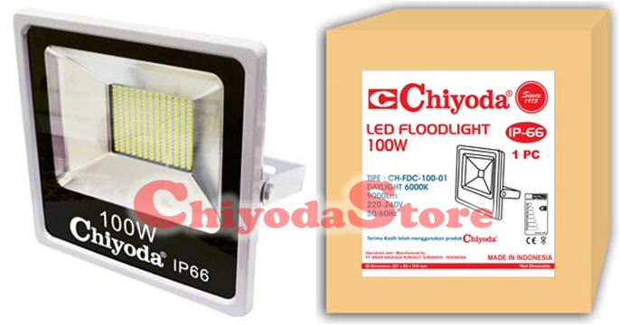 LED FLOOD LIGHT FDC-100W SLIM DOB Photo