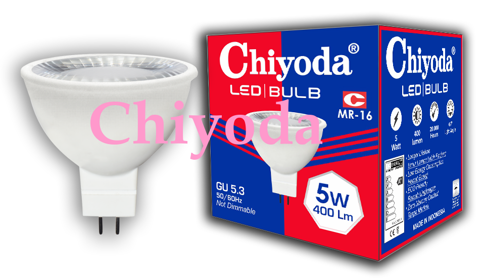 LED MR-16 5W 220V GU 5.3 GLASS Photo