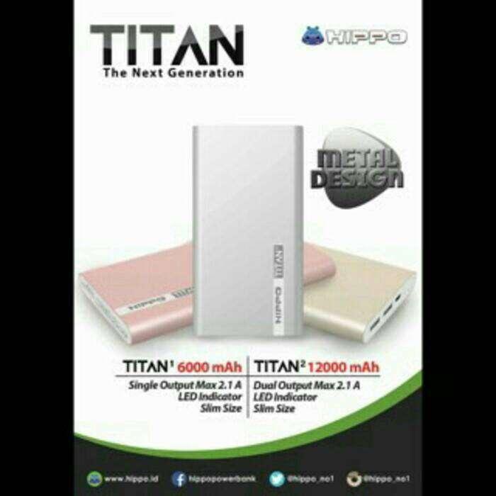 Power Bank Hippo TITAN 12000 Mah Photo