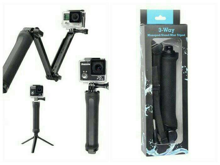 Tongsis Monopod 3Way Photo