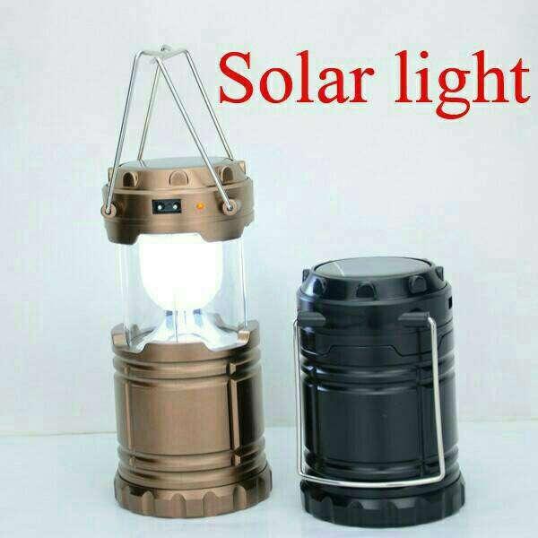 Lampu Lentera tarik solar + Power Bank G-85 Photo