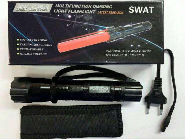 Senter SWAT Setrum + Laser (Stungun) Photo
