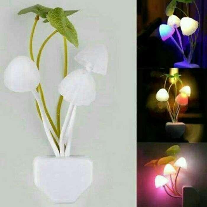 Lampu Tidur  Jamur  Avatar Sensor Cahaya Photo