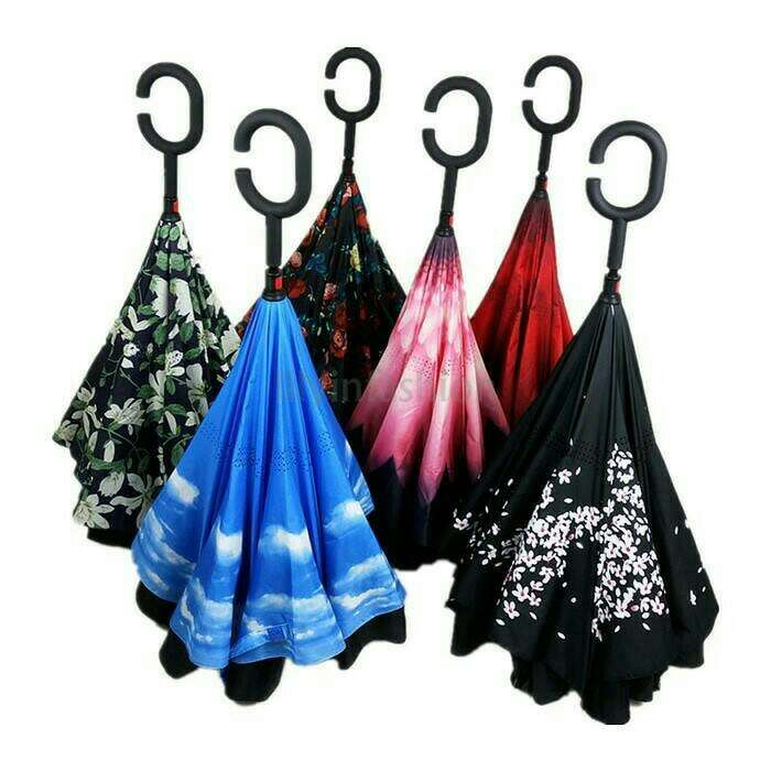 Kazbrella - Payung Terbalik ( Reverted Umbrella ) Photo