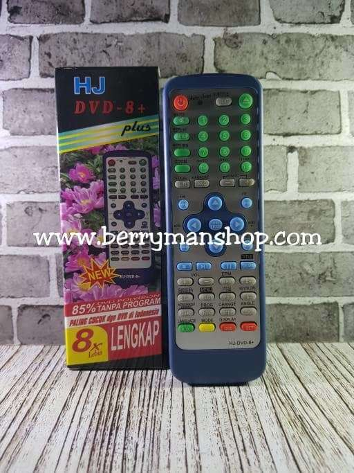 Remot / Remote DVD Universal HJ-DVD-8+ Photo