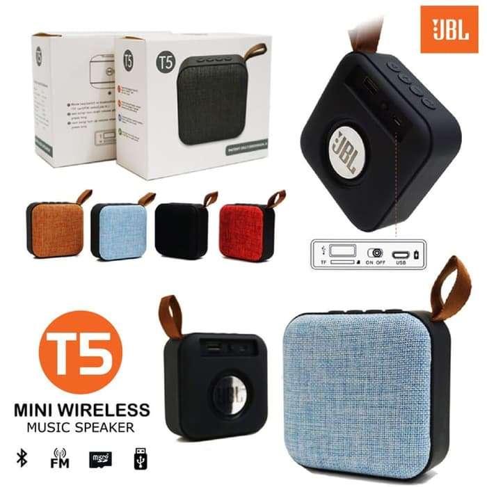 Mini Speaker Bluetooth JBL T5 Photo