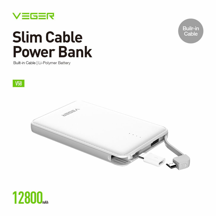 Power Bank Veger 12800 Mah Photo
