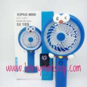Handy Mini Fan Portable SX-109 HELLO KITTY / DORAEMON ( RECHARGEABLE ) Photo