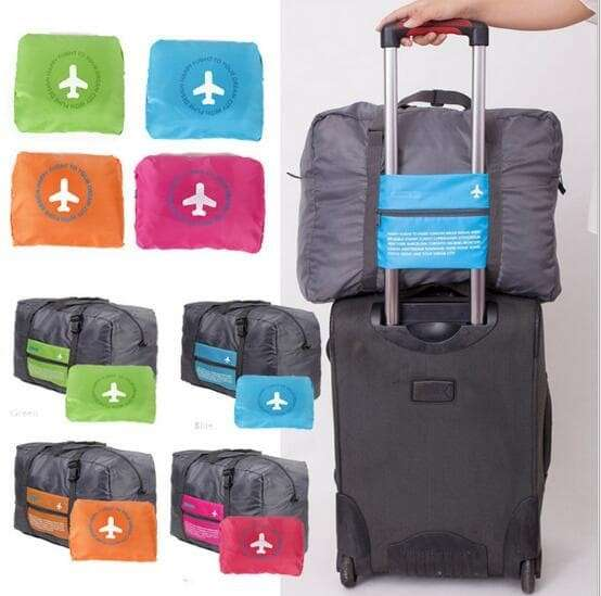LUGGAGE Foldable Travel Bag - Tas koper Lipat Photo