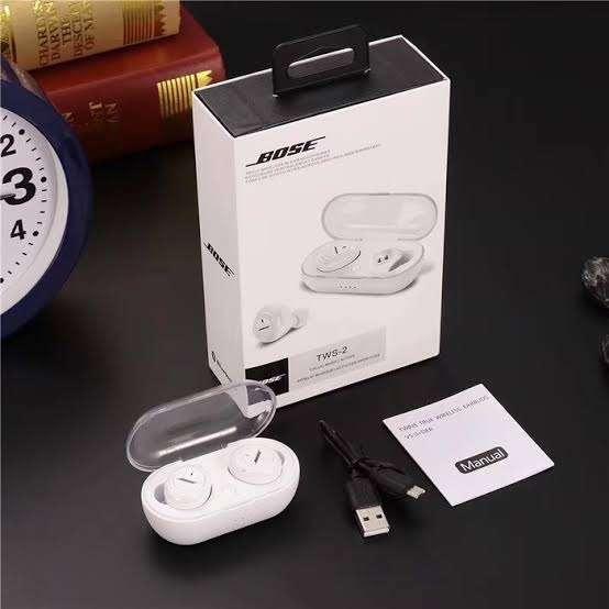 Headset Bluetooth BOSE TWS-2 - High Quality Stereo Earphone Photo
