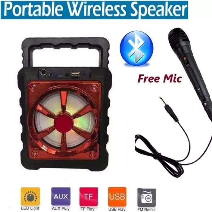 Speaker Bluetooth FLECO F-1914 FREE Microphone Photo