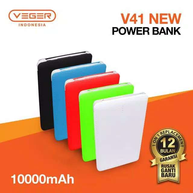Power Bank VEGER 10000 Mah Photo