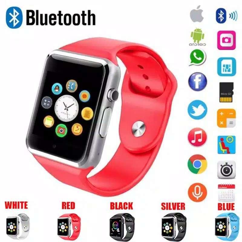 Smart watch U10 / A1 Support Sim Card dan Memori Card Photo