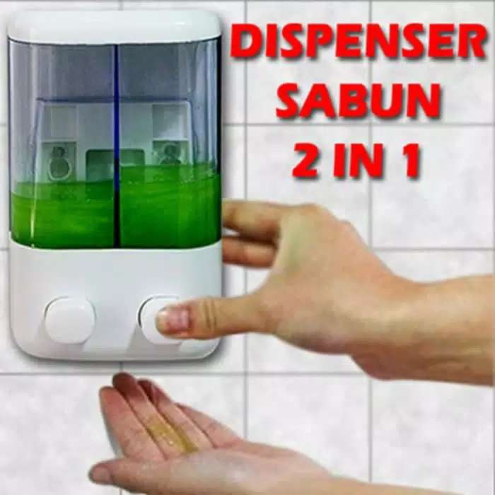 Dispenser Sabun Cair Double Photo