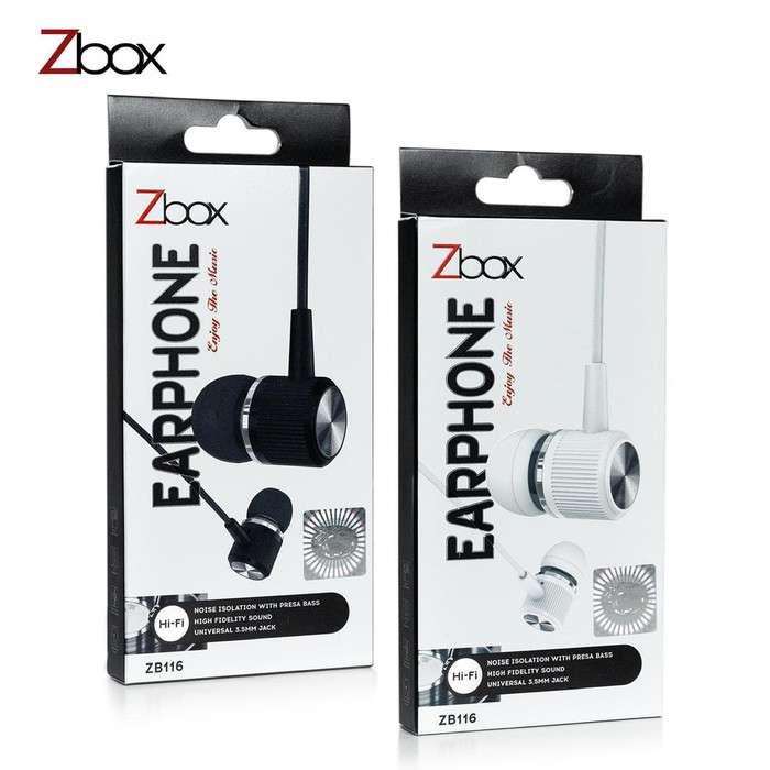 Headset ZBOX ZB116 Hi-Fi High Fidelity Sound - Handsfree Earphone Photo