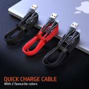 Kabel Data VEGER UFO Kaleng Stainless QC 3.0A Fast Charging - MICO USB Photo