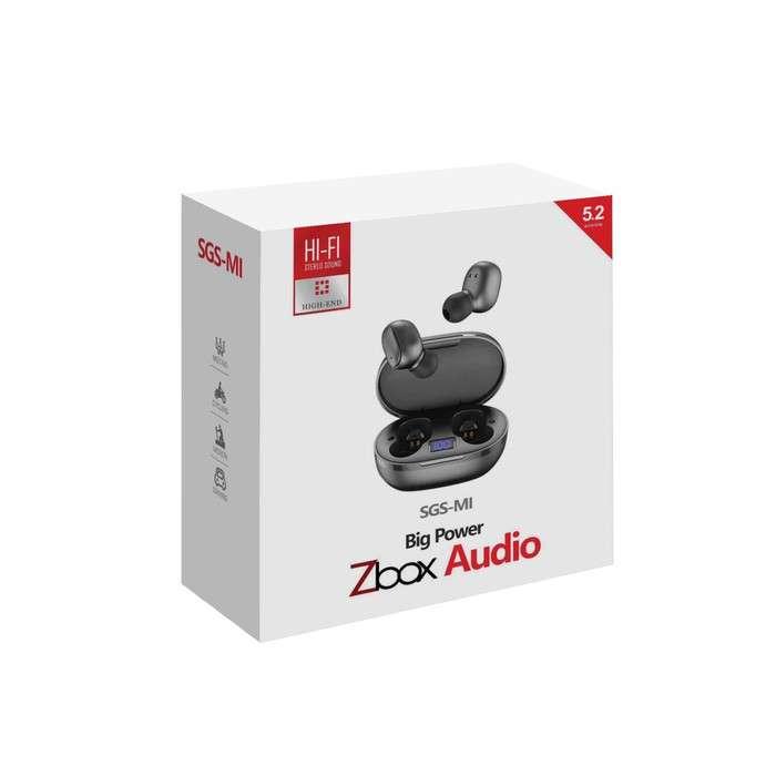 Headset Bluetooth ZBOX TWS SGS-MI Hi-Fi Stereo Sound Photo