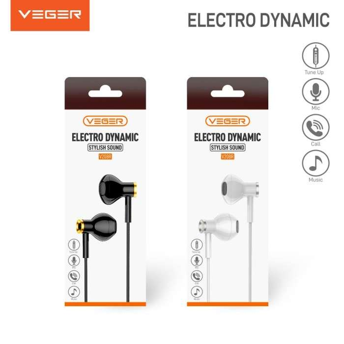 Headset VEGER V208R ELECTRO DYNAMIC Stylish Sound Photo