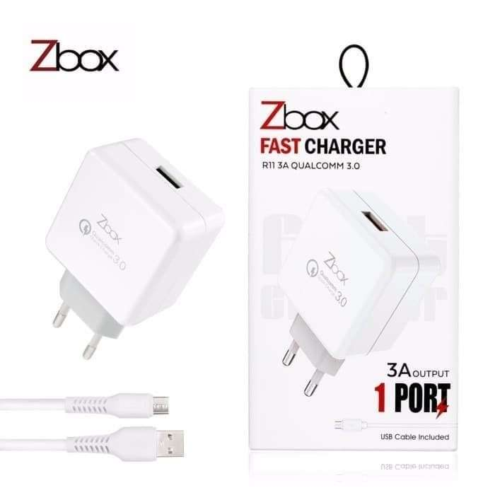 Travel Charger ZBOX R11 3A Qualcomm 3.0 - MICRO USB Photo
