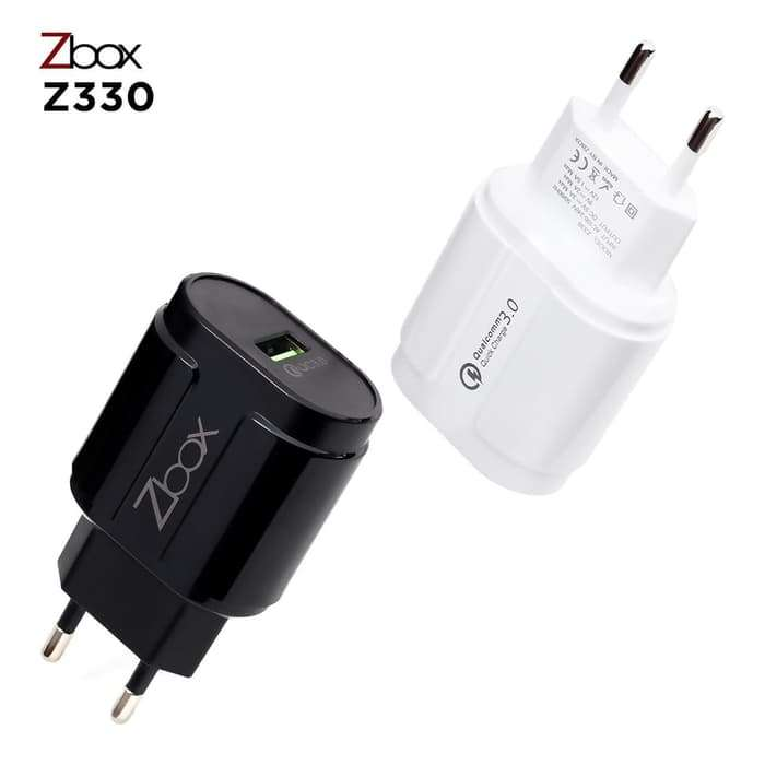 Travel Charger ZBOX Z330 3.1A Qualcomm 3.0 - MICRO USB Photo