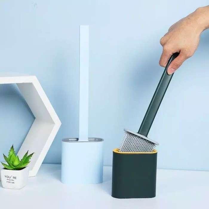 SIKAT WC SILIKON - Toilet Brush Silicone Flexible Photo