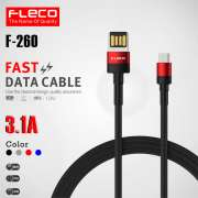 Kabel Data FLECO F-260 3.1A Quick Charger - MICRO USB Photo
