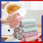 Kain Lap Piring Anti Minyak Microfiber - Hand Towel Dapur Serbaguna Photo