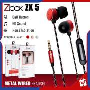 Headset ZBOX ZX-5 Metal Stereo Photo