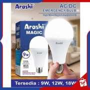 Lampu Bohlam Emergency LED ARASHI MAGIC 9W Photo