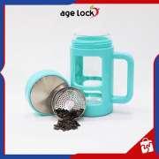 Mug AGELOCK Strainer Glass LSG 451 Gelas Minum Cangkir Botol Portable Photo