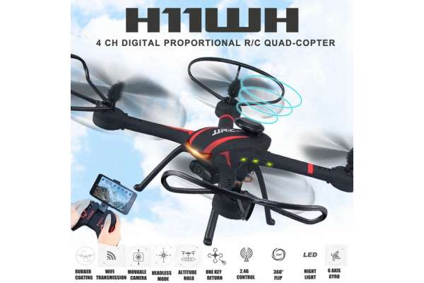 RC DRONE JJRC H11WH drone with camera 2.0 MP HD (Mainan RC drone) Photo