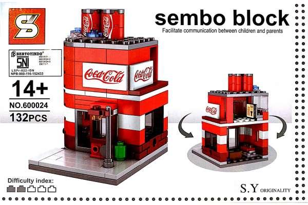 LEGO BLOCK COCA COLA SHOP Photo
