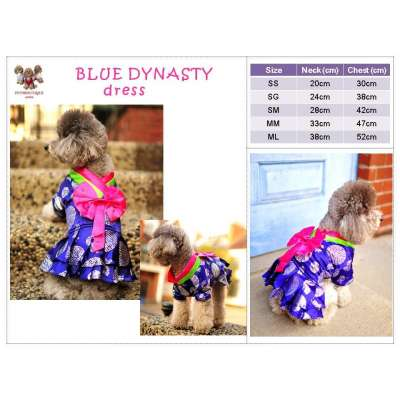 Blue Dynastiy - CNY Korean Dress Photo