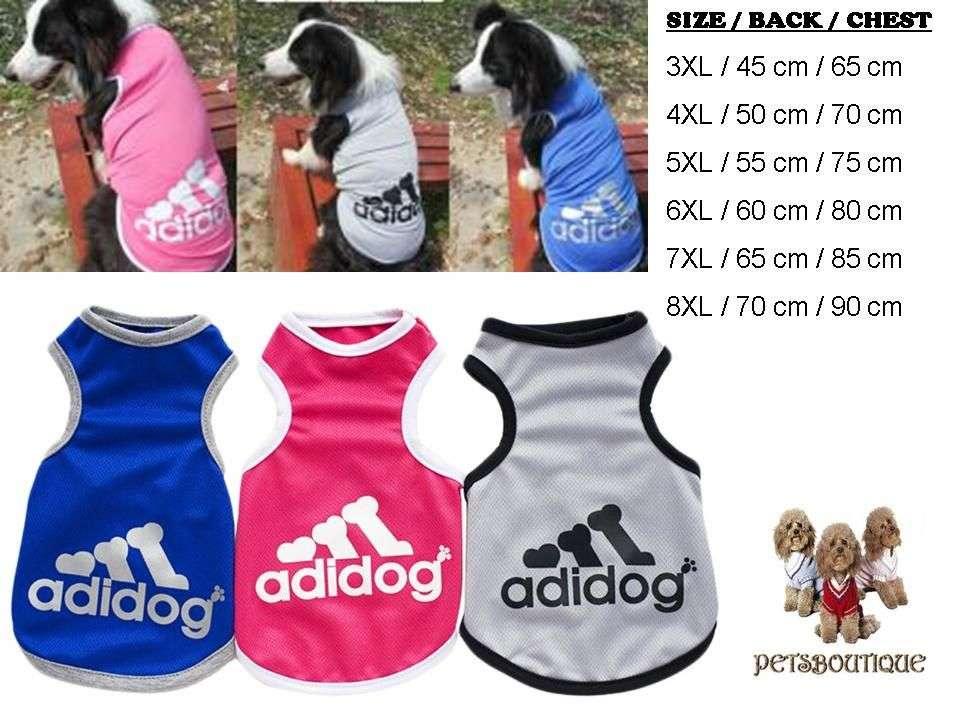 Big Dog Tee - Adidog Sleeveless Dog Tshirt Photo