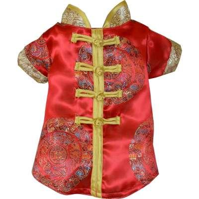 RED Pet Cheongsam CNY Costume (Last Piece) Photo