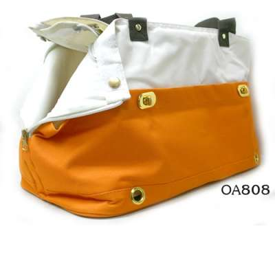 Pet Carrier - Orange Duo Photo