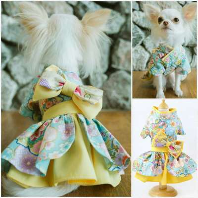 Petsionate - Yellow Sweet Obession Dress Photo