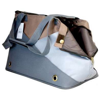 Pet Carrier - Grey Classic Photo