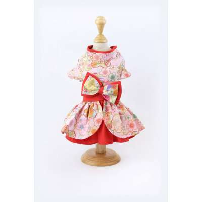Petsionate - RED Sweet Obession Dress Photo