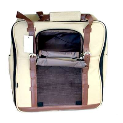 Pet Front, Back, Side 3in1 Carrier - Canvas Classic Photo