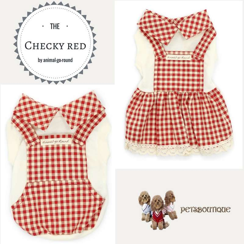 Animal Go Round - Checky Red Photo